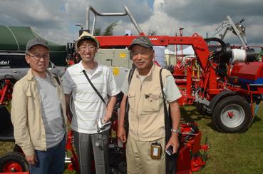 Besuchergruppe aus Japan, bereits das 3. Mal auf der Fachmesse